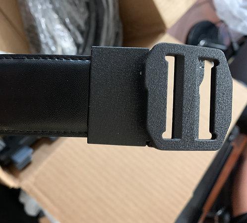 X7 BLACK LEATHER APPENDIX CARRY GUN BELT