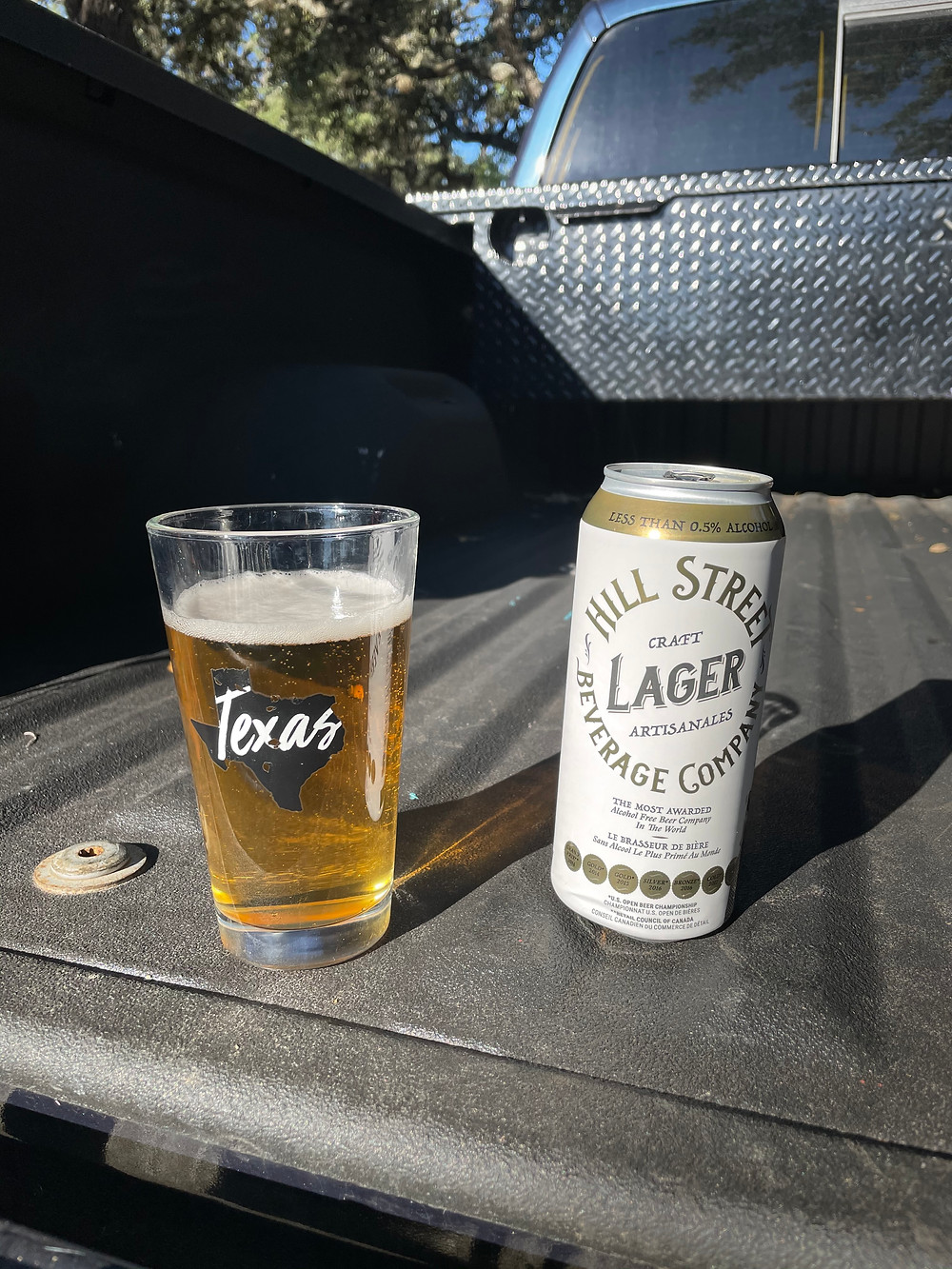 NA beer review hill street lager