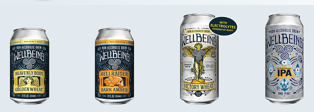non-alcoholic beer, wellbeing brewing