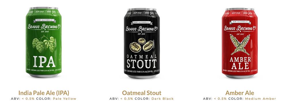 bravus brewing non-alcoholic beer