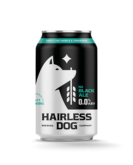 non-alcohlic beer black ale
