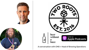 The non-alcoholic beer winning ALL the awards with Two Roots | Beer Without a Buzz Ep. 5