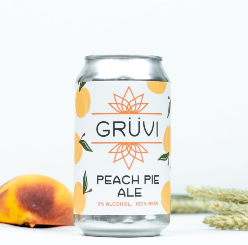non-alcoholic beer peach