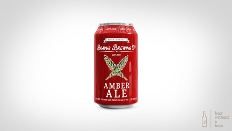 Bravus Amber Ale – NA Craft Beer Review
