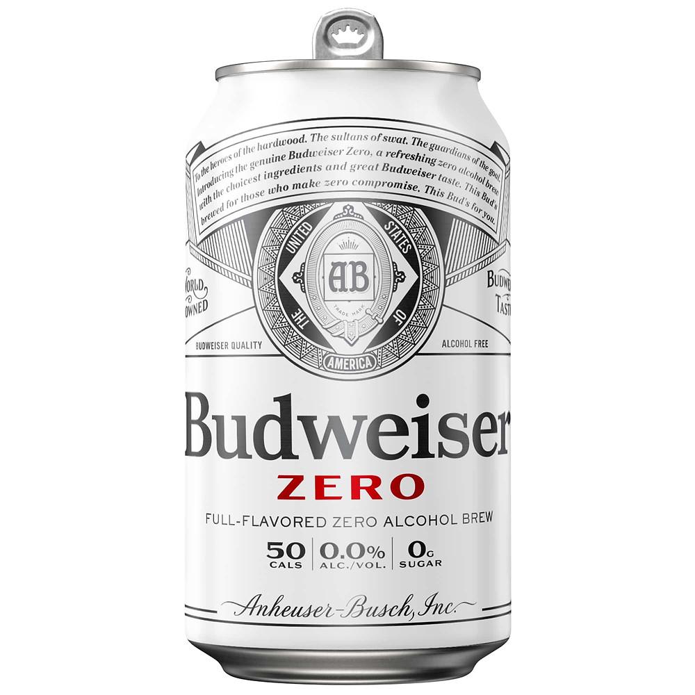 non alcoholic budweiser zero
