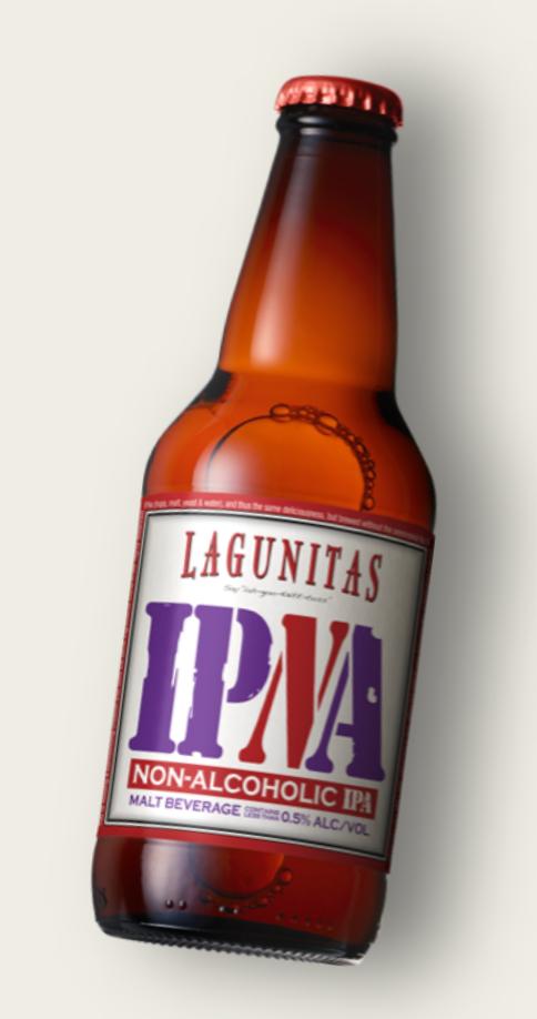 lagunitas non alcoholic beer