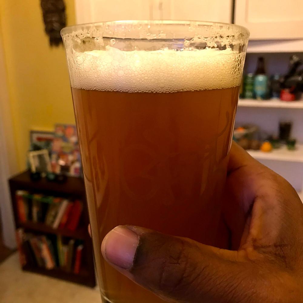 NA beer bravus amber ale