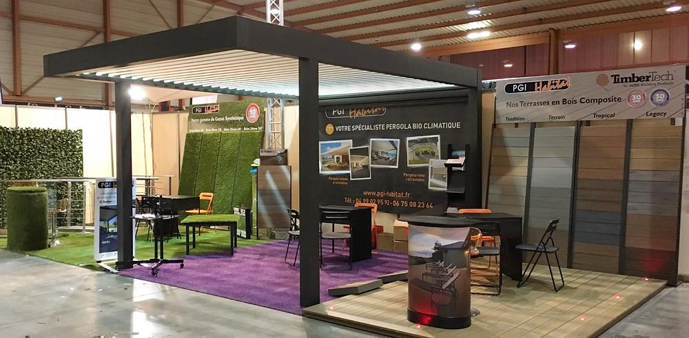 Stand PGI Habitat à la Foire Expo de Montpellier