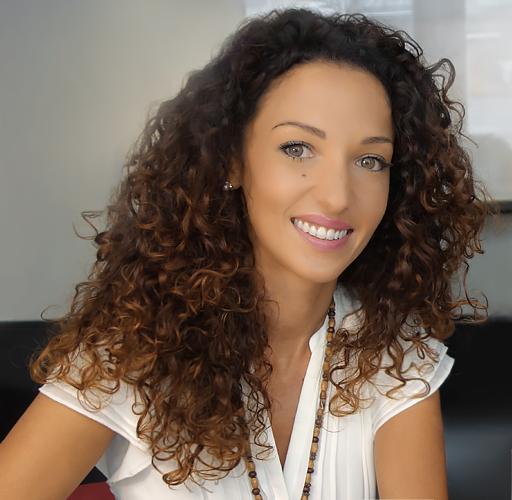 Emmanuelle Rivassoux, présente au salon de l'habitat de Nîmes 2018.