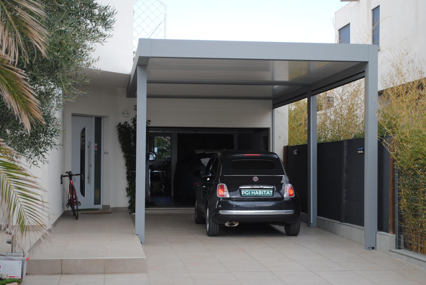 Carport 3 poteaux