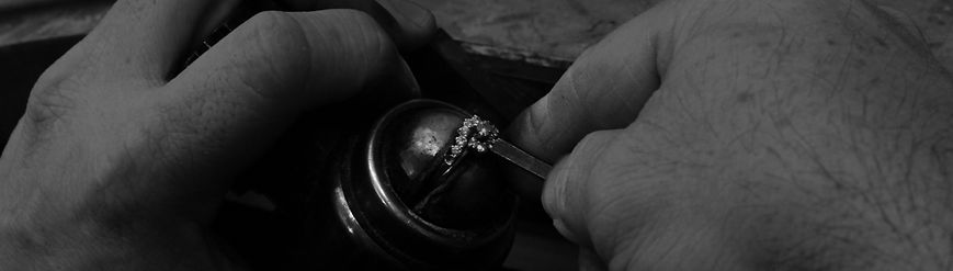 Jewelry. Repairing a prong on a ring