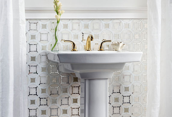 Bathroom-Mosaic-white-silver-antique-mir