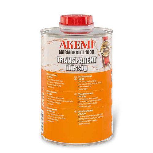Akemi Transparent Liquid Marble Filler 1000 with Hardener