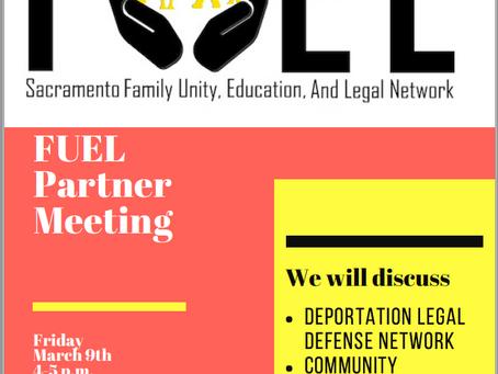 Upcoming Partners Meeting