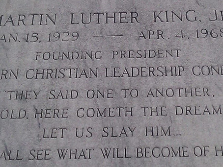 This Easter, Dr. King joins Jesus in asking: 'Who Do You Say I AM?'