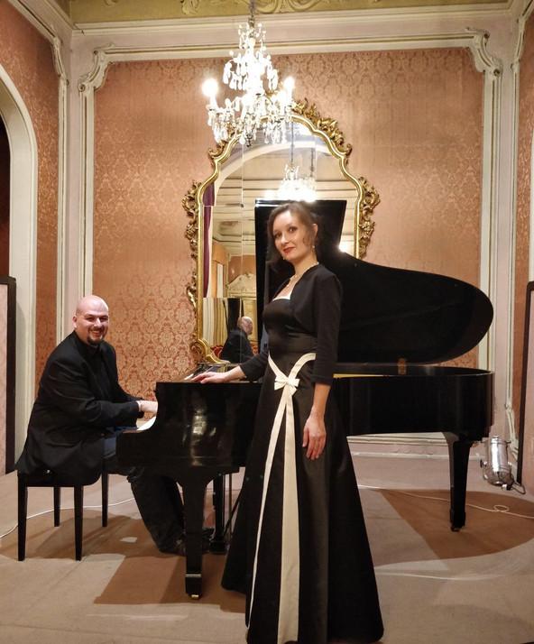 Elizabetta Tagliati (soprano) and Gioacchino Cancemi (piano)