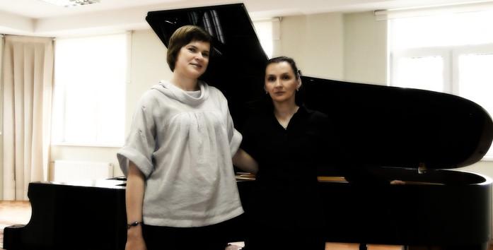 Елена Шевченко и Ольга Бельская (фортепианный ансамбль)
