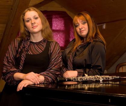 Альвина Максимова (гобой) и Ольга Зайцева (фортепиано)