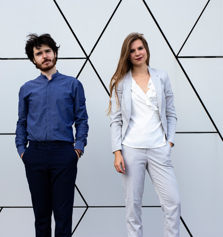 Elizaveta Agrafenina (soprano) and Dimitri Malignan (piano)