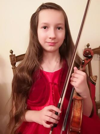 Мария Остромогильская (скрипка)
