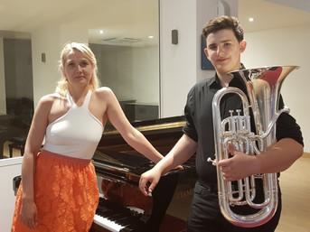 Thomas Albert Maurizio Cremmer (Euphonium) and Olga Volkova (piano)