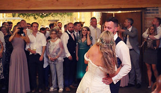 huntsmill farm rustic wedding dj