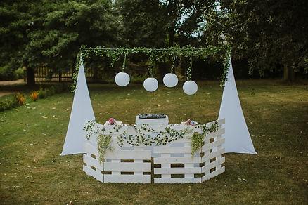 rustic wedding dj sulgrave manor