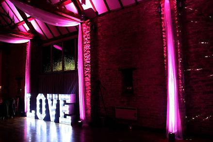 great barn oxfordshire wedding venue dj