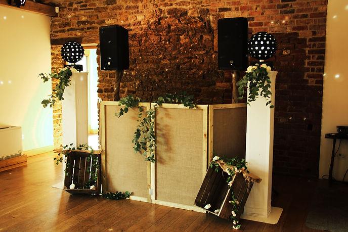 dodford manor wedding dj