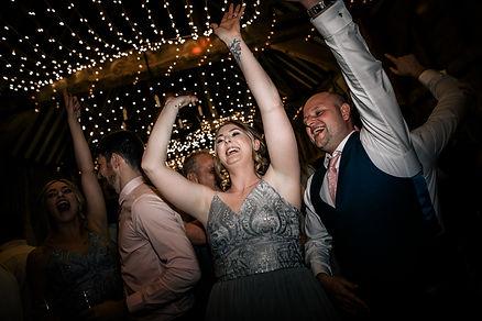 wedding dj and disco at manor farm barn