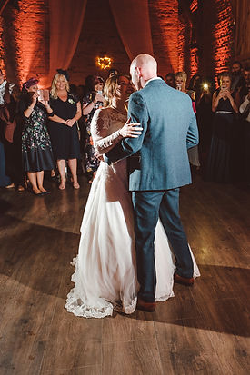 rustic wedding dj dovecote barn