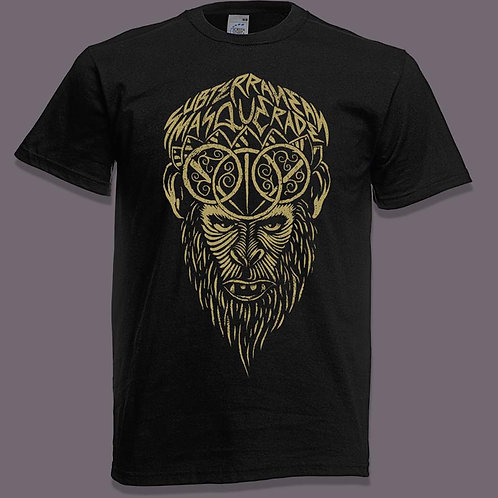 Hanuman Limited edition short sleeve shirt GOLD