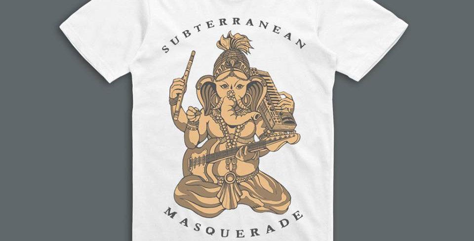 Ganesha  Limited edition short sleeve shirt WHITE