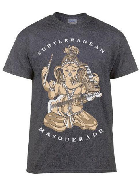 Ganesha Limited edition short sleeve shirt GRAY