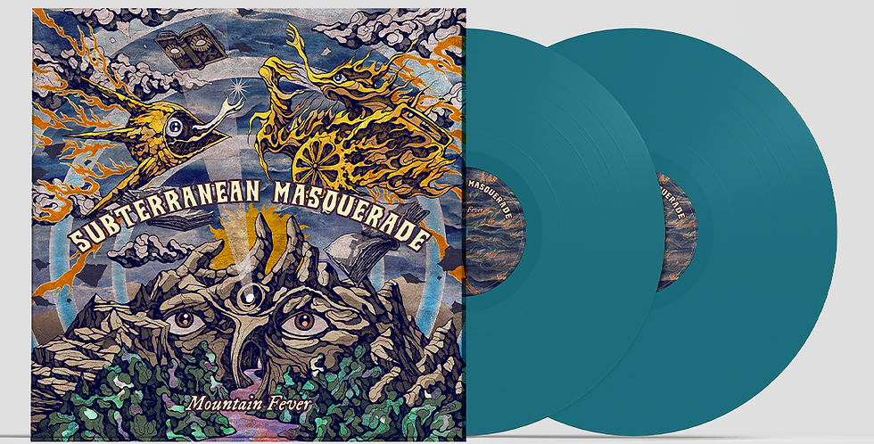 Mountain Fever - Double TURQUOISE vinyl *Band Exclusive*