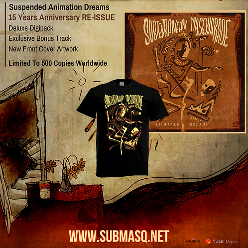Suspended Animation Dreams SHIRT + CD