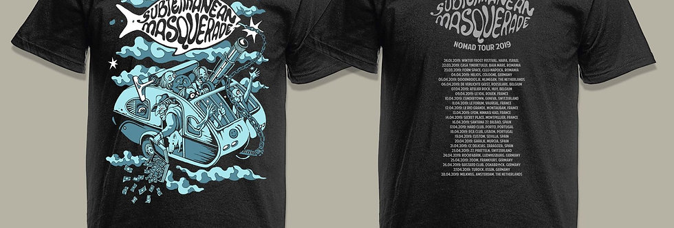 NOMAD Limited edition TOUR SHIRT