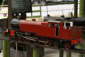 "5"" gauge steam locomotive"