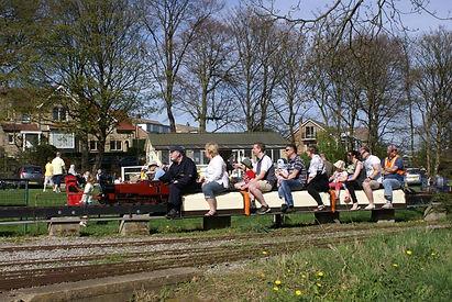 """5"""" locomotive at Ravensprings Park"""