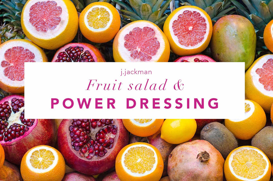 What can fruit salad tell us about dressing like a boss?