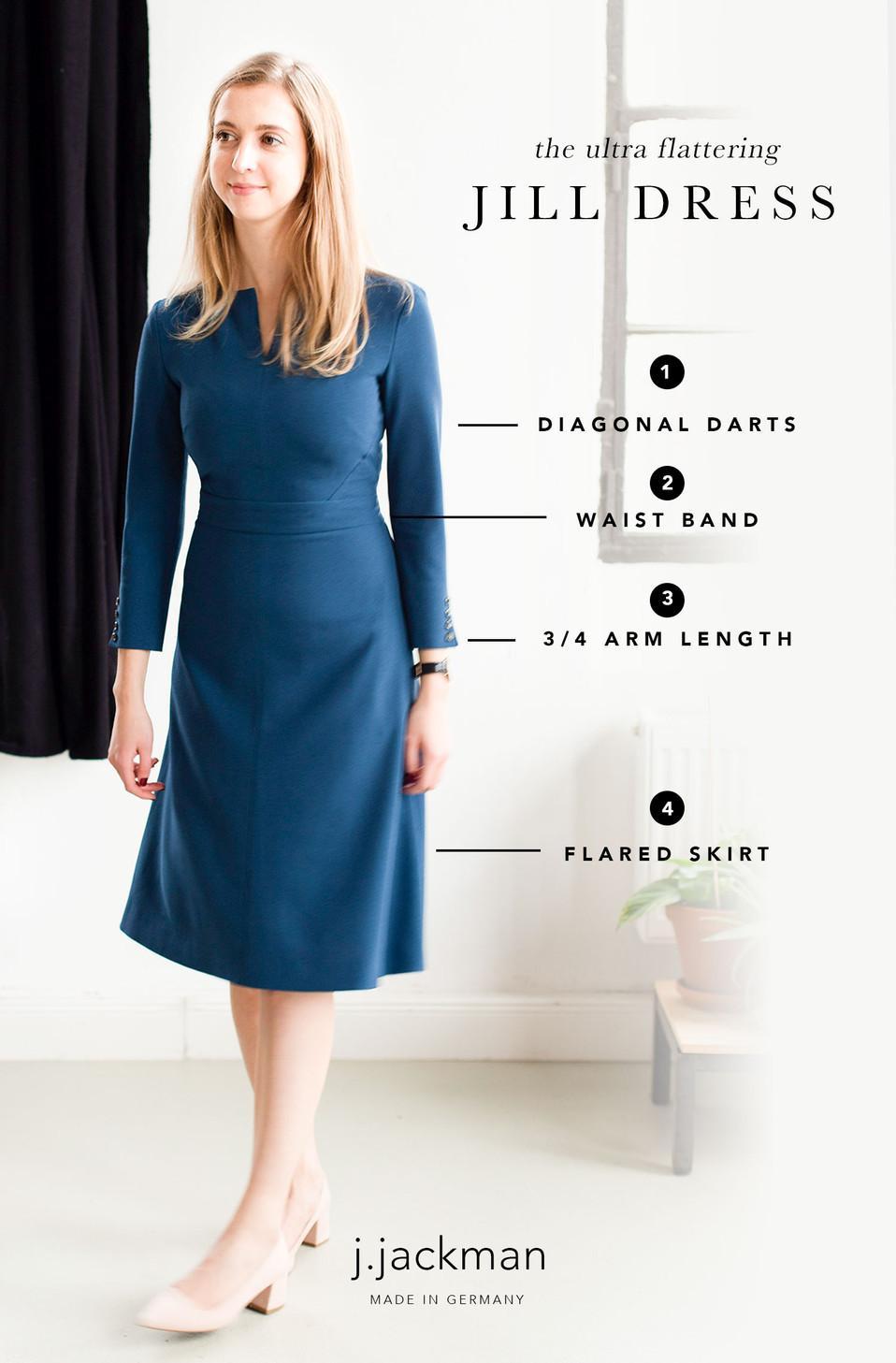 The JILL Dress: 4 Flattering Features