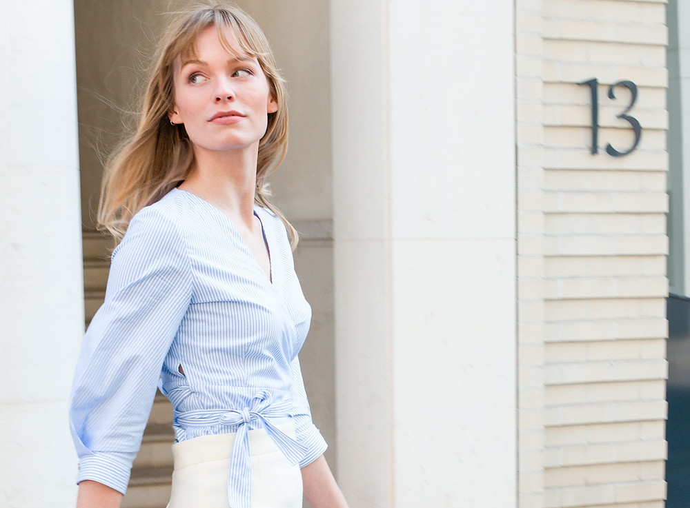 business outfit inspiration for spring from sustainable fashion brand j.jackman