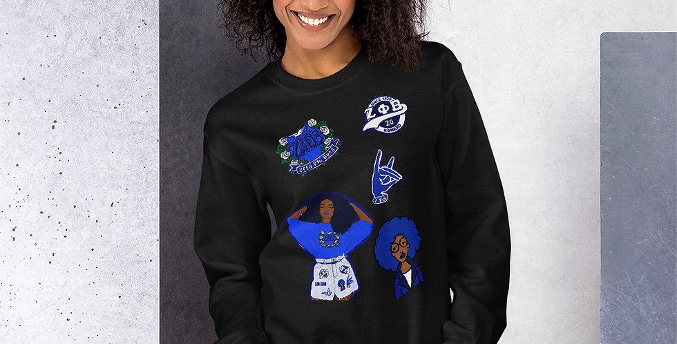 Zeta Centennial Sweatshirt
