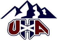UHA Logo outlined with mountains (transp