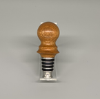 """Canarywood 3-1/4"""" SS O-Ring Self-Standing Bottle Stopper"""