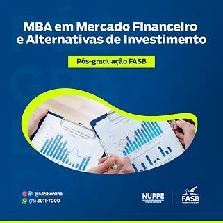 MBA em mercado financeiro e alternativas