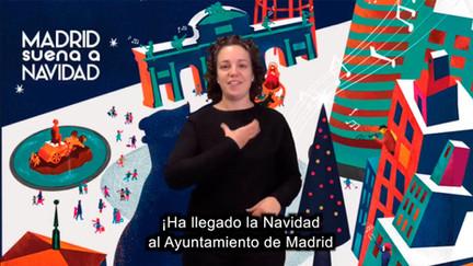 Navidad al Ayuntamiento de Madrid