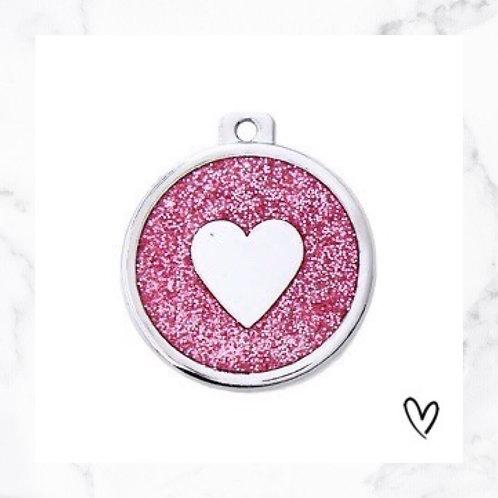 KLEA charm glitter round individually