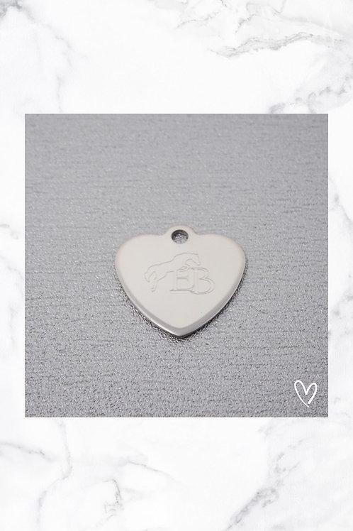 KLEA Marke Herz Silber mit eigenem Logo