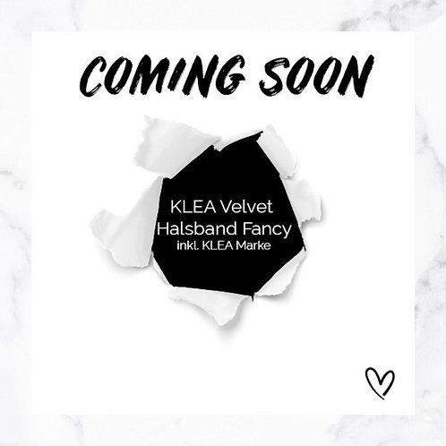 KLEA Velvet Halsband Fancy